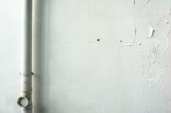 Biel ściana Obraz Stock