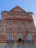 Biel gwiazdy linii budynek w Liverpool Anglia Zdjęcia Royalty Free