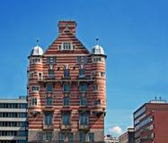 Biel gwiazdy linii budynek w Liverpool, UK Fotografia Royalty Free