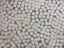 Biel i Siwieje dachówkową ścianę przy uliczną istną fotografią lub ceglanym wnętrza tłem bezszwowego i tekstury zdjęcie royalty free