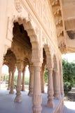 Biel Kamienni Świątynni filary Fotografia Stock