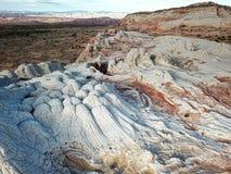 Biel kieszeń, Vermilion falez Krajowy zabytek, Arizona Obrazy Stock