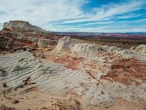 Biel kieszeń, Vermilion falez Krajowy zabytek, Arizona Obraz Royalty Free