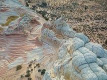 Biel kieszeń, Vermilion falez Krajowy zabytek, Arizona Obrazy Royalty Free