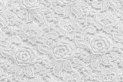 Biel koronka z małymi kwiatami Żadny jakaś znak firmowy lub ogranicza sprawę w ten photoà ¹ ƒ obrazy royalty free