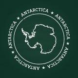 Biel kredowej tekstury gumowa foka z Antarctica royalty ilustracja
