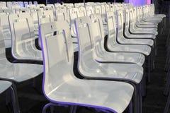 Biel krzesła Obrazy Stock
