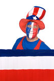 biel Lipiec patriota biel Zdjęcie Stock