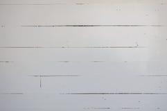 Biel malował grunge drewniane deski w starym domu wiejskim Obrazy Royalty Free