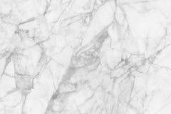 Biel marmurowa tekstura dla tła i projekta Zdjęcia Stock