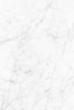 Biel marmurowa tekstura, wyszczególniająca struktura marmur w naturalny wzorzystym dla tła i projekt, Zdjęcia Royalty Free