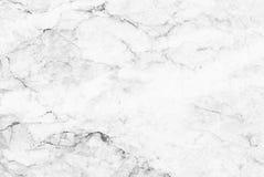 Biel marmurowej tekstury tła abstrakcjonistyczny wzór z wysoka rozdzielczość Fotografia Royalty Free