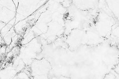 Biel marmurowej tekstury tła abstrakcjonistyczny wzór z wysoka rozdzielczość Obrazy Stock
