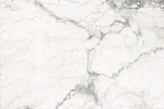 Biel marmurowej tekstury tła abstrakcjonistyczny wzór Zdjęcie Stock