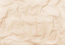 Biel marszczący papierowy tło Zdjęcie Royalty Free