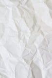 Biel miący papierowy vertical Obrazy Stock