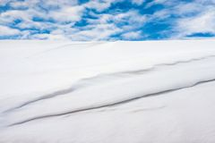 Biel śnieg obrazy stock