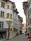 Biel Old Town Fotografie Stock