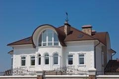 Biel piękny dom Fotografia Royalty Free