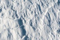 Biel powierzchnia istny śnieg Fotografia Royalty Free