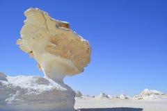 Biel pustynia - Egipt obraz royalty free