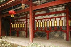 Biel rockowa świątynia w Sichuan, porcelana Zdjęcia Royalty Free