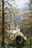 Biel rockowa świątynia w Sichuan, porcelana Zdjęcie Royalty Free