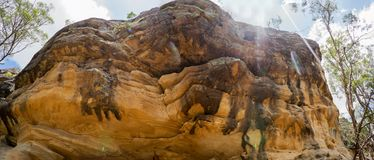 Biel Rockowa panorama Ipswich Australia zdjęcie royalty free