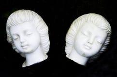 Biel rzeźbić twarze zdjęcia royalty free