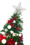 2010 biel tła bożych narodzeń Grudzień szczegół odizolowywający nad fotografia brać drzewnym biel Fotografia Royalty Free