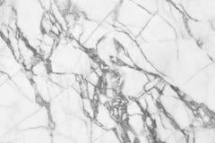 Biel tekstury marmur deseniujący tło Marmury Tajlandia, abstrakcjonistyczny naturalny marmurowy czarny i biały dla projekta (szar obrazy royalty free