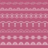Biel świetny openwork koronkowy zestaw Zdjęcia Royalty Free