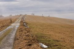 Biele Karpaty en Slovaquie. Photographie stock