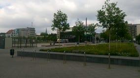 Bielefeld Kesselbrink w lecie Obraz Royalty Free