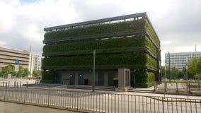 Bielefeld Kesselbrink zieleni sześcian obraz royalty free