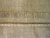 Bieliźniana tkanina Fotografia Stock