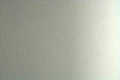Bieliźnianej kanwy tekstury biały tło Obrazy Royalty Free