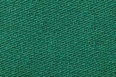 Bieliźniany płótno w zielonym kolorze Tkaniny tła tekstura Szczegół tekstylny materiał w górę obrazy royalty free