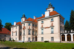 Bielinski Palace in Otwock Wielki, Poland Royalty Free Stock Photography