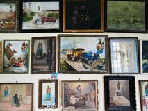 BIELLA, ITALIË - AUGUSTUS 3, 2017: Heiligdom van Oropa, Biella, Italië Royalty-vrije Stock Fotografie