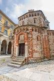Biella (Italien) - Baptistery Lizenzfreie Stockbilder