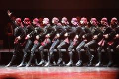 Bielorrússia, a cidade de Gomel, 23 03 2017 Concerto do bailado nacional Georgian imagem de stock royalty free