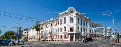 Bielorrússia, Gomel Projeto do arquiteto S d Shabunevsky Foto de Stock Royalty Free