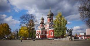 Bielorrusia, Borisov: Catedral ortodoxa del St Voskresensky Imagen de archivo libre de regalías