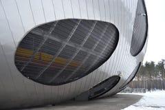 Bielorrusia, Borisov, CONTIENDA, fútbol, arsenal, región de Minsk, ciudad vieja, río de Berezina, estadio, arena de Borisov fotos de archivo
