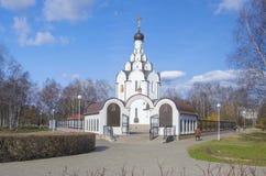 Bielorrusia, Minsk: ortodoxo en memoria de las víctimas del accidente de Chernóbil Imagen de archivo libre de regalías