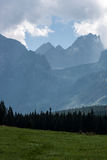 Bielovodska Valley in Tatry Mountains Stock Photo