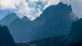Bielovodska Valley in Tatry Mountains Stock Image