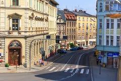 Bielski Biala Polska, Wrzesień, - 07, 2014 Fotografia Royalty Free