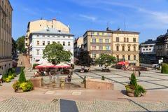 Bielski Biala Polska, Wrzesień, - 07, 2014 Zdjęcie Royalty Free
